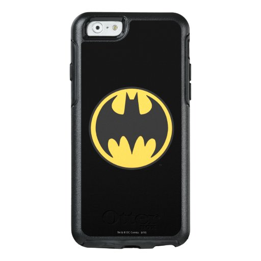 Batman Symbol | Dark Yellow Circle Logo OtterBox iPhone 6/6s Case