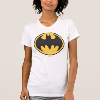 Batman Symbol | Dark Yellow Circle Logo T-Shirt