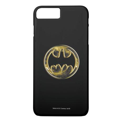 Batman Symbol | Gold Logo 2 iPhone 8 Plus/7 Plus Case
