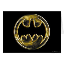 Batman Symbol | Gold Logo Card