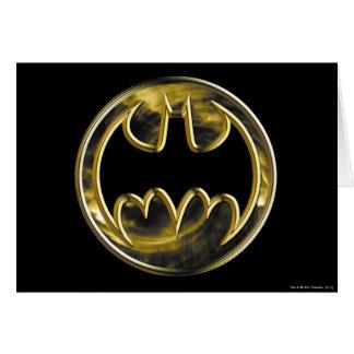 Batman Symbol | Gold Logo Card