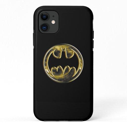 Batman Symbol | Gold Logo iPhone 11 Case