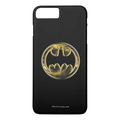 Batman Symbol | Gold Logo iPhone 8 Plus/7 Plus Case