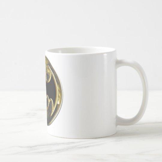 Batman Symbol | Gold Logo Coffee Mug