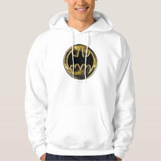Batman Symbol   Gold Logo Hoodie