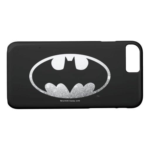 Batman Symbol | Grainy Logo 2 iPhone 8/7 Case