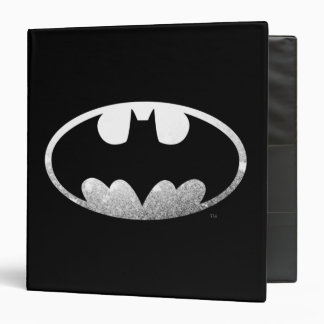 Batman Symbol | Grainy Logo 3 Ring Binder