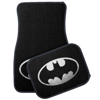 Batman Symbol   Grainy Logo Car Mat