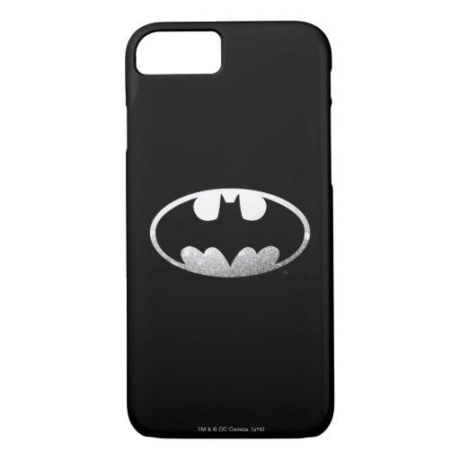 Batman Symbol | Grainy Logo iPhone 8/7 Case