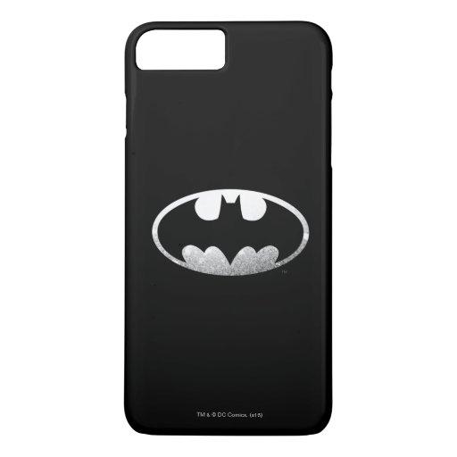 Batman Symbol | Grainy Logo iPhone 8 Plus/7 Plus Case