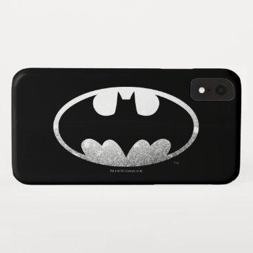 Batman Symbol | Grainy Logo iPhone XR Case