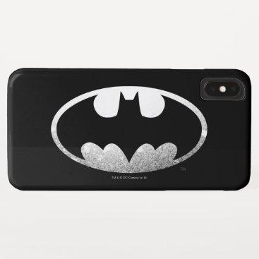 Batman Symbol | Grainy Logo iPhone XS Max Case