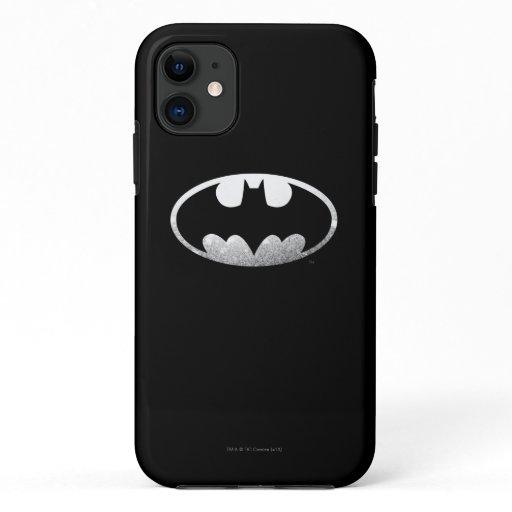 Batman Symbol | Grainy Logo iPhone 11 Case