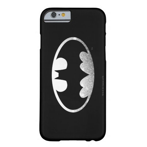Batman Symbol | Grainy Logo Barely There iPhone 6 Case
