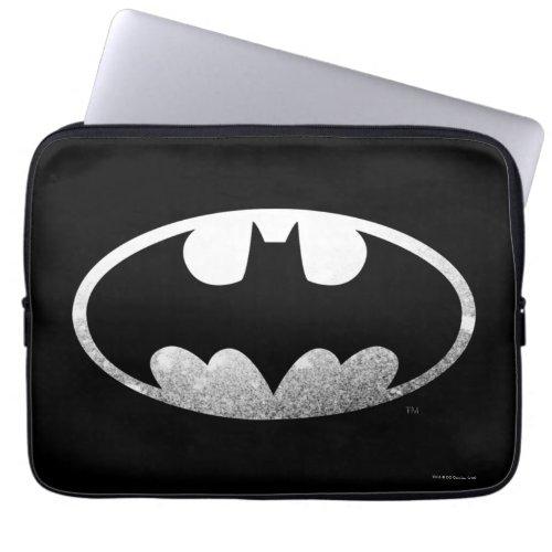 Batman Symbol | Grainy Logo Laptop Computer Sleeve