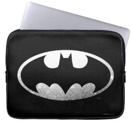 Batman Symbol | Grainy Logo Laptop Sleeve