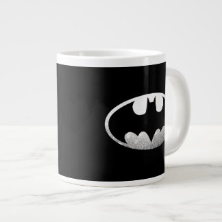 Batman Symbol | Grainy Logo Large Coffee Mug
