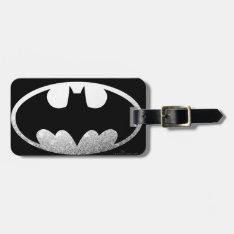 Batman Symbol | Grainy Logo Luggage Tag at Zazzle