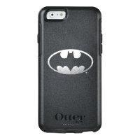 Batman Symbol   Grainy Logo OtterBox iPhone 6/6s Case