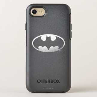 Batman Symbol | Grainy Logo OtterBox Symmetry iPhone 7 Case