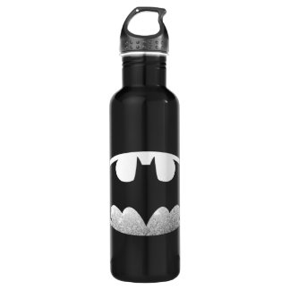 Batman Symbol | Grainy Logo Stainless Steel Water Bottle