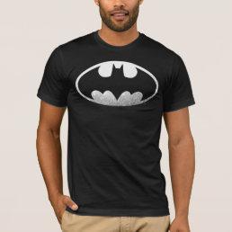 Batman Symbol   Grainy Logo T-Shirt