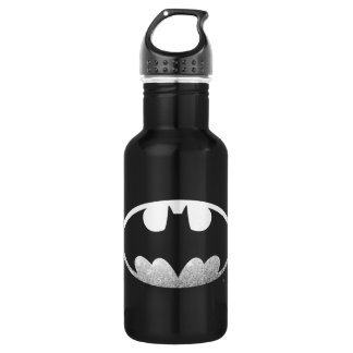 Batman Symbol | Grainy Logo Water Bottle
