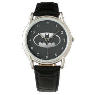Batman Symbol | Grainy Logo Wrist Watch