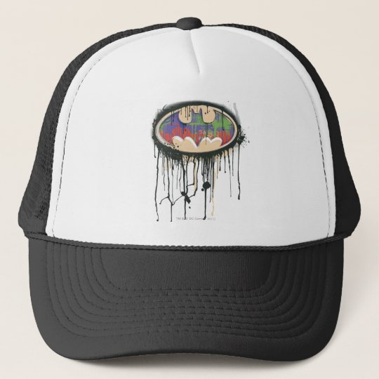 Batman Symbol | Green Purple Red Logo Trucker Hat