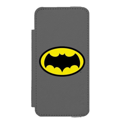 Batman Symbol Wallet Case For iPhone SE/5/5s