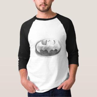 Batman Symbol   Insignia Drawing Logo Shirt