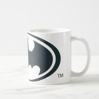 Batman Symbol Classic White Coffee Mug