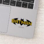 Batman Symbol | Name Yellow & Black Logo Sticker