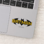 Batman Symbol | Name Yellow & Black Logo Sticker