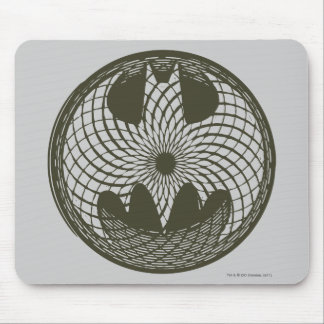 Batman Symbol | Nouveau Circle Logo Mouse Pad