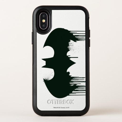 Batman Symbol OtterBox Symmetry iPhone X Case