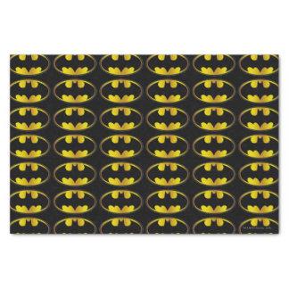 "Batman Symbol | Oval Gradient Logo 10"" X 15"" Tissue Paper"
