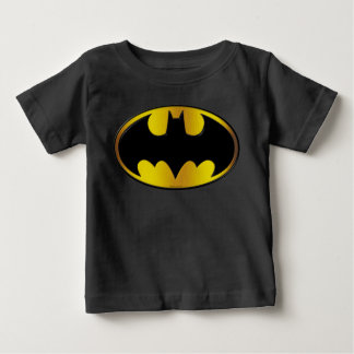 Batman Symbol | Oval Gradient Logo Baby T-Shirt
