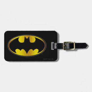 Batman Symbol | Oval Gradient Logo Bag Tag