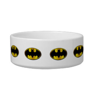 Batman Symbol | Oval Gradient Logo Bowl