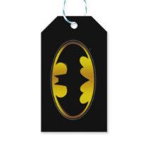 Batman Symbol | Oval Gradient Logo Gift Tags