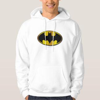 Batman Symbol | Oval Gradient Logo Hooded Pullover