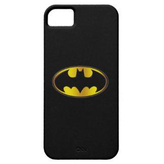 Batman Symbol | Oval Gradient Logo iPhone SE/5/5s Case