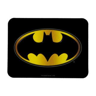 Batman Symbol | Oval Gradient Logo Magnet