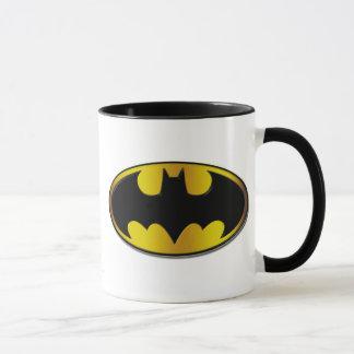 Batman Symbol | Oval Gradient Logo Mug