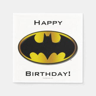 Batman Symbol | Oval Gradient Logo Napkin