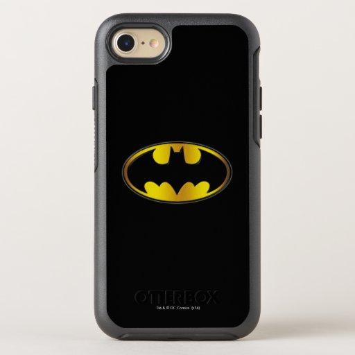 Batman Symbol | Oval Gradient Logo OtterBox Symmetry iPhone 8/7 Case