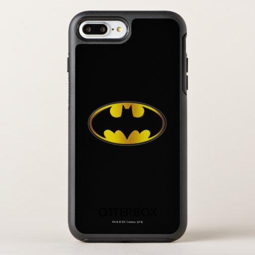 Batman Symbol | Oval Gradient Logo OtterBox Symmetry iPhone 8 Plus/7 Plus Case