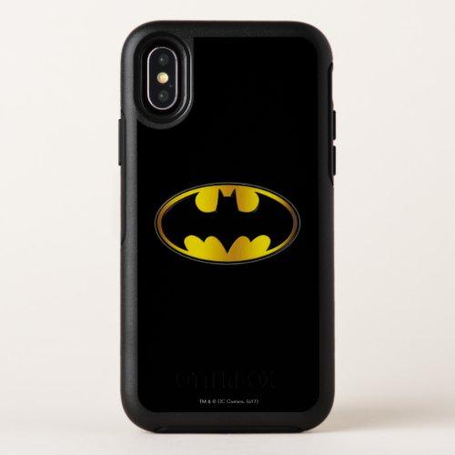 Batman Symbol | Oval Gradient Logo Phone Case