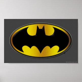 Batman Symbol | Oval Gradient Logo Poster